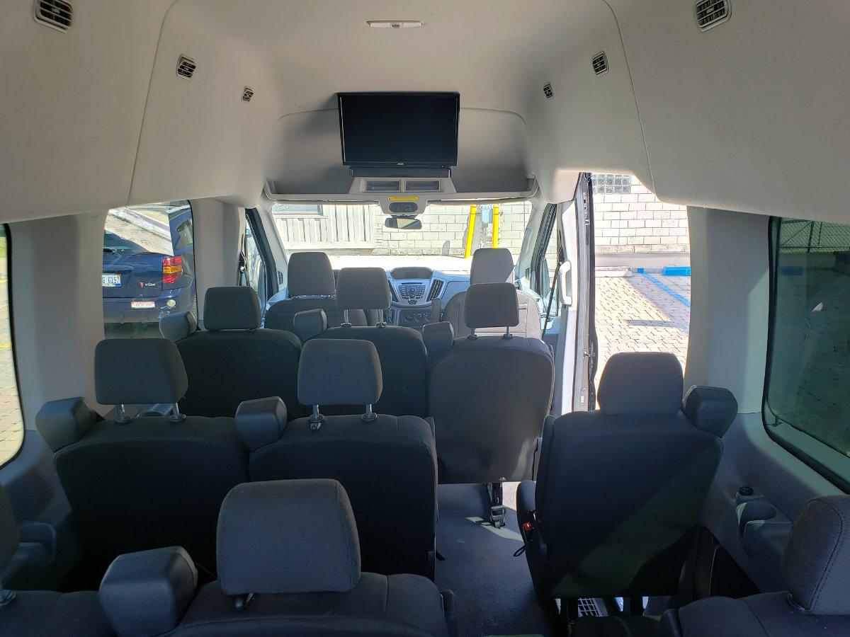 Ford Transit High Top 15 Passenger