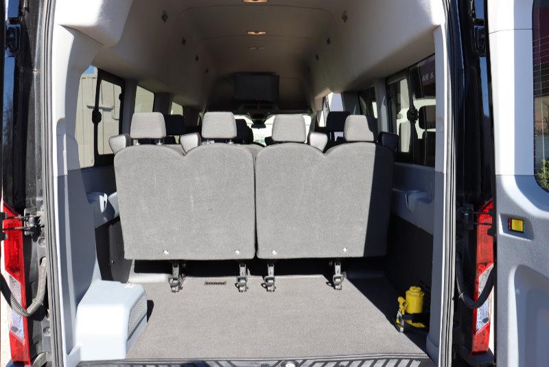 Ford Transit High Top 15 Passenger Interiior