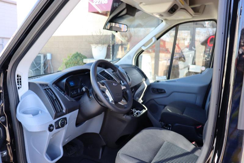 Ford Transit High Top 15 Passenger Interior