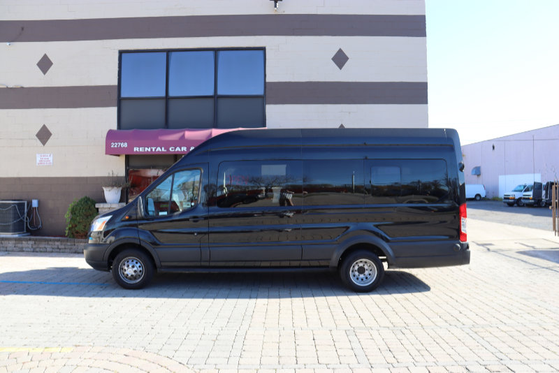 Ford Transit High Top 15 Passenger Side