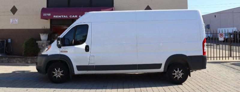 The Ram Pro Master Cargo Van